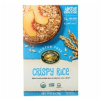 Nature's Path Organic Whole Grain Crispy Rice Cereal - Case of 12 - 10 oz.