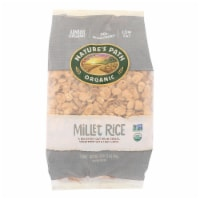 Nature's Path Organic Millet Rice Oat-bran Flakes Cereal - Case of 6 - 32 oz. - 32 OZ