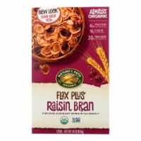 Nature's Path Organic Flax Plus Raisin Bran Cereal - Case of 12 - 14 oz. - 14 OZ