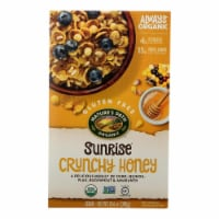 Nature's Path Organic Sunrise Cereal - Crunchy Honey - Case of 12 - 10.6 oz. - 10.6 OZ