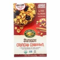 Nature's Path Organic Sunrise Cereal - Crunchy Cinnamon - Case of 12 - 10.6 oz. - 10.6 OZ