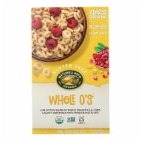Nature's Path Organic Whole O's Cereal - Case of 12 - 11.5 oz. - 11.5 OZ