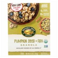 Nature's Path Organic Flax Plus Granola - Pumpkin - Case of 12 - 11.5 oz. - 11.5 OZ