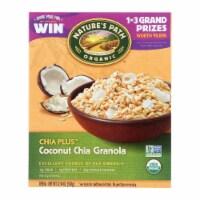 Nature's Path Organic Chia Plus Granola - Coconut Chia - Case of 12 - 12.34 oz. - 12.34 OZ