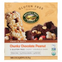 Nature's Path Organic Granola Bar - Chunky Chocolate Peanut - Case of 6 - 6.2 oz.