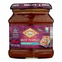 Pataks Chutney - Hot Mango - Hot - 12 oz - case of 6 - Case of 6 - 12 OZ each
