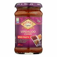 Pataks Concentrated Curry Paste Vindaloo Hot  - Case of 6 - 10 OZ - Case of 6 - 10 OZ each