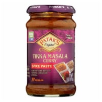Pataks Concentrated Curry Paste, Tikka Masala Medium  - Case of 6 - 10 OZ - Case of 6 - 10 OZ each