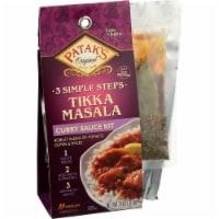 Patak's Original 3 Step Tikka Masala Curry Sauce Kit, 11 oz [Pack of 6] - 6