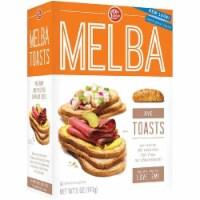 Old London Melba Toast Rye 5 Oz (Pack of 12)
