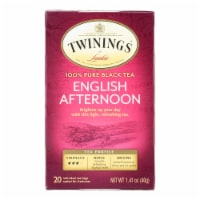 Twinings Tea Black Tea - English Afternoon - Case of 6 - 20 Bags - Case of 6 - 20 BAG each