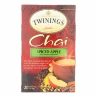 Twinings Tea Chai - Apple Spiced - Case of 6 - 20 Bags - Case of 6 - 20 BAG each