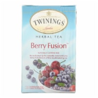 Twinings Tea Tea - Herbal - Berry Fusion - Case of 6 - 20 count - Case of 6 - 20 BAG each