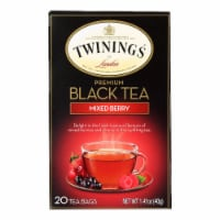 Twinings Tea Black Tea - Mixed Berry - Case of 6 - 20 Bags - Case of 6 - 20 BAG each