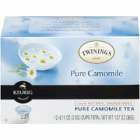 Twinings of London Pure Camomile Tea 12 K-cups. (Pack of 6)