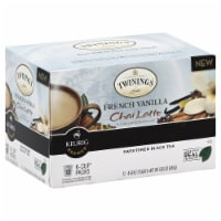 Twinings of London French Vanilla Chai Latte  12 K-cups. (Pack of 6) - 6