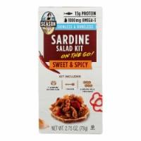 Season Brand - Sard Salad Kit Sweet & Spicy - Case of 6-2.75 OZ - Case of 6 - 2.75 OZ each