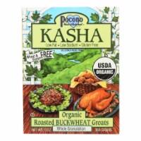 Pocono Whole Buckwheat Kasha - Organic - Case of 6 - 13 oz. - Case of 6 - 13 OZ each
