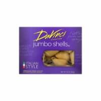 DaVinci - Pasta - Jumbo Shells - Case of 12 - 12 oz - 12 OZ