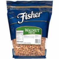 Fisher Chefs Naturals Nugget Walnut Piece, 2 Pound -- 3 per case.