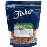 Fisher Honey Maple Walnut, 32 Ounce -- 3 per case.