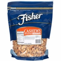 Fisher Whole Cashew Nut, 2 Pound -- 3 per case.