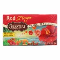 Celestial Seasonings Herbal Tea - Caffeine Free - Red Zinger - 20 Bags - 20 BAG