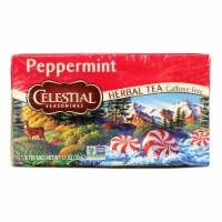 Celestial Seasonings Herbal Tea - Peppermint - Caffeine Free - 20 Bags - Case of 1 - 20 BAG each