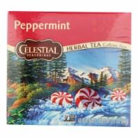 Celestial Seasonings Herbal Tea - Peppermint - 40 Bags - 40 BAG