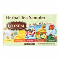 Celestial Seasonings Herbal Tea - Sampler - Case of 6 - 18 BAG