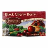 Celestial Seasonings Herbal Tea - Black Cherry Berry - Caffeine Free - 20 Bags - 20 BAG