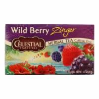 Celestial Seasonings Herbal Tea - Caffeine Free - Wild Berry Zinger - 20 Bags - 20 BAG