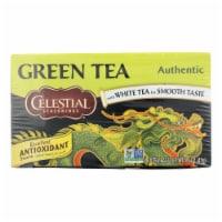 Celestial Seasonings Authentic Green Tea - Case of 6 - 20 Bags