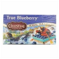 Celestial Seasonings Herbal Tea - Caffeine Free - True Blueberry - 20 Bags - 20 BAG