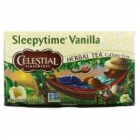 Celestial Seasonings Herbal Tea - Sleepytime Vanilla - Case of 6 - 20 BAG