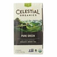 Celestial Seasonings Green Tea - Organic - Pure - Case of 6 - 20 BAG - Case of 6 - 20 BAG each