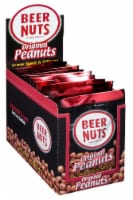 Beer Nuts Original Peanut, 3 Ounce - 12 per pack -- 48 packs per case.