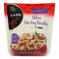 Ka'Me Udon Stir Fry Noodles - Case of 6 - 14.2 oz. - 6