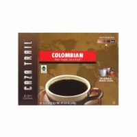 Caza Trail Colombian Roast Coffee, 8.04 Ounce - 24 per pack -- 4 packs per case.