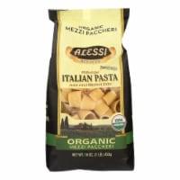 Alessi - Premium Italian Pasta - Organic Mezzi Paccheri - Case of 6 - 16 oz. - Case of 6 - 16 OZ each