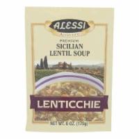 Alessi - Sicilian Lentil Soup - Lenticchie - Case of 6 - 6 oz.