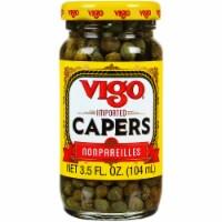 Vigo Imported Capers NonPareilles, 3.5oz (Pack of 12)