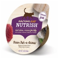 Rachael Ray Nutrish Grain Free Ocean Fish-A-Licious Wet Cat Food