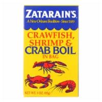 Zatarain's Crab Boil - Dry - Case of 6 - 3 oz - Case of 6 - 3 OZ each
