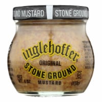Beaverton Foods Inglehoffer Original Stone Ground Mustard  - Case of 6 - 4 OZ - Case of 6 - 4 OZ each