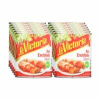 La Victoria Traditional Enchilada Sauce Mild - Case of 12 - 28 FZ - 28 FZ