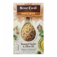 Near East Whole Wheat Couscous - Roasted Garlic and Olive Oil - Case of 12 - 5.8 oz. - 5.8 OZ