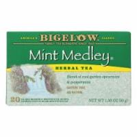 Bigelow Tea Herbal Tea - Mint Medley - Case of 6 - 20 BAG - Case of 6 - 20 BAG each