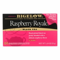 Bigelow Tea Raspberry Royale Black Tea - Case of 6 - 20 Bags
