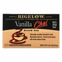 Bigelow Tea Tea - Chai Vanilla - Case of 6 - 20 BAG - 20 BAG